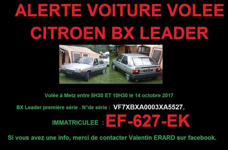 CITROEN BX CLUB DE FRANCE