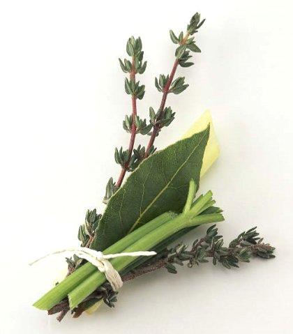 Le bouquet garni - Bouquet garni en cuisine ...