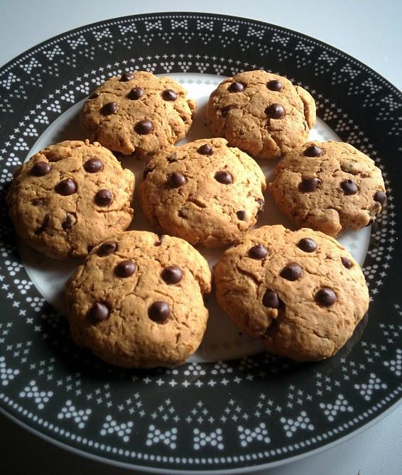 Cookies à la purée de cacahuète