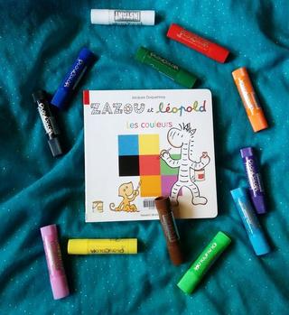 """""""Zazou et Leopold - Les couleurs"""""""