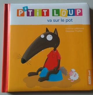 """""""Ptit loup va sur le pot"""""""