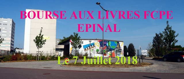 Bourse aux livres FCPE 2018 Epinal / Bruyères