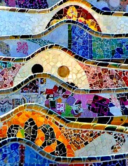 gaudi,antoni gaudi, le parc guell, sagrada familia, barcelone,art-maniac le blog de bmc, http://art-maniac.over-blog.com/ le peintre bmc,bmc le peintre,