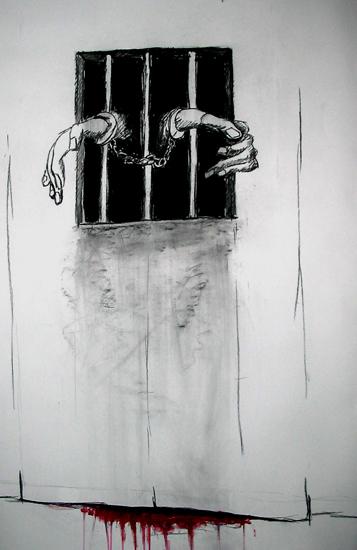 prison, les prisonniers, bmc,art-maniac le blog de bmc, http://art-maniac.over-blog.com/ le peintre bmc,