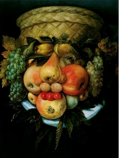 arcimboldo,maniérisme,art-maniac le blog de bmc, http://art-maniac.over-blog.com/ le peintre bmc,