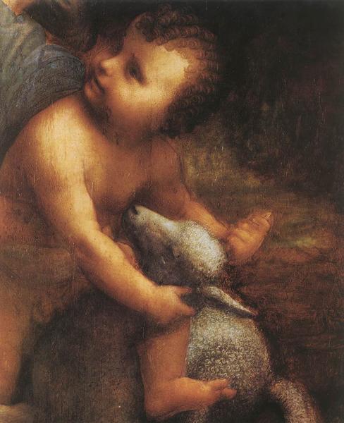 La vierge et sainte anne,léonard de vinci, musée du louvre,art-maniac le blog de bmc, http://art-maniac.over-blog.com/ le peintre bmc,