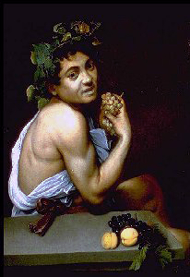 le caravage bacchus,bmc,art maniac,le blog de bmc,culture,