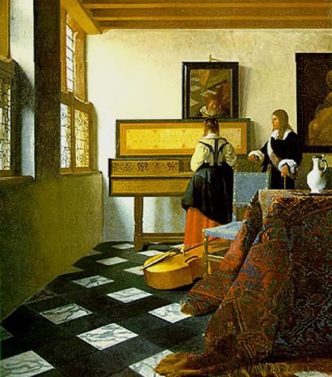 vermeer,lettre du pape jean-paul 2 aux artistes,art-maniac le blog de bmc, http://art-maniac.over-blog.com/ le peintre bmc,