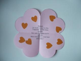 Carte Coeur Fête Des Mères