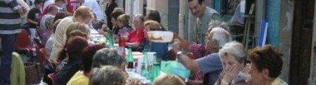 Forum frontignan, repas de rue du printemps></img><br /><span style=