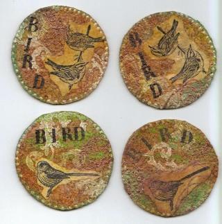 pour le forum incartades le challenge du printemps bird10