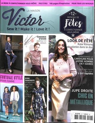 Les Magazines Actuelle De VictorCouture Novembre 2017La Maison DWHY29EI