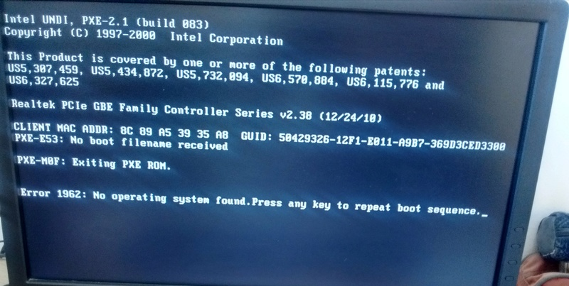 RESOLU]Difficultés pour installer debian 9 / Installation de