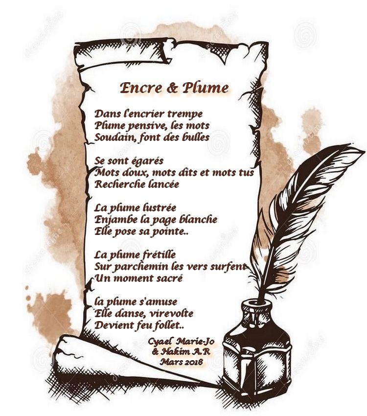 Poèmes En Ligne Poèmes à Plusieurs Encre Et Plume Duo