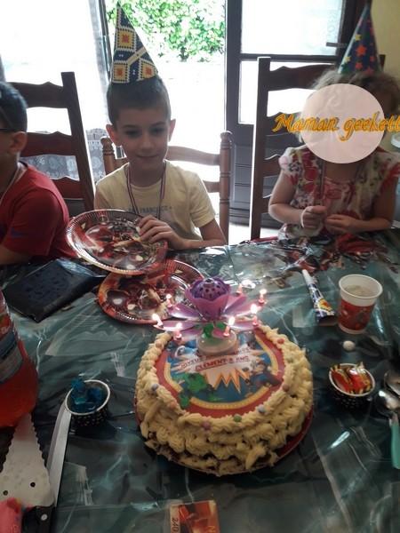 Anniversaire de Clément :8 ans