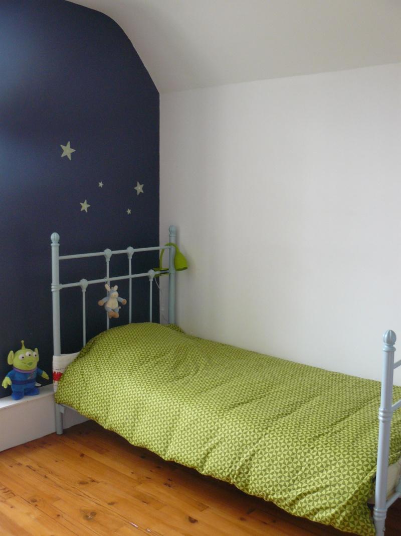 déco chambre bleu marine