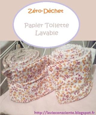 Papier Toilette lavable
