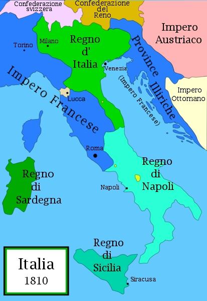 Atlante storico il processo di unificazione d 39 italia - Lettere unipa portale ...