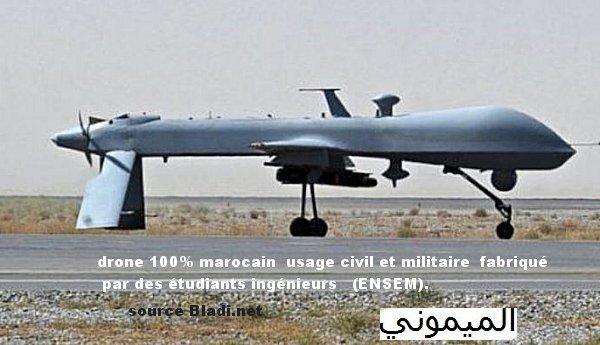 drone marocain