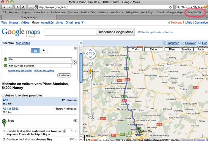 nancy maps google