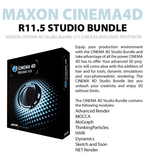 maxon cinema 4d r11 studio bundle mnvv2 info free. Black Bedroom Furniture Sets. Home Design Ideas