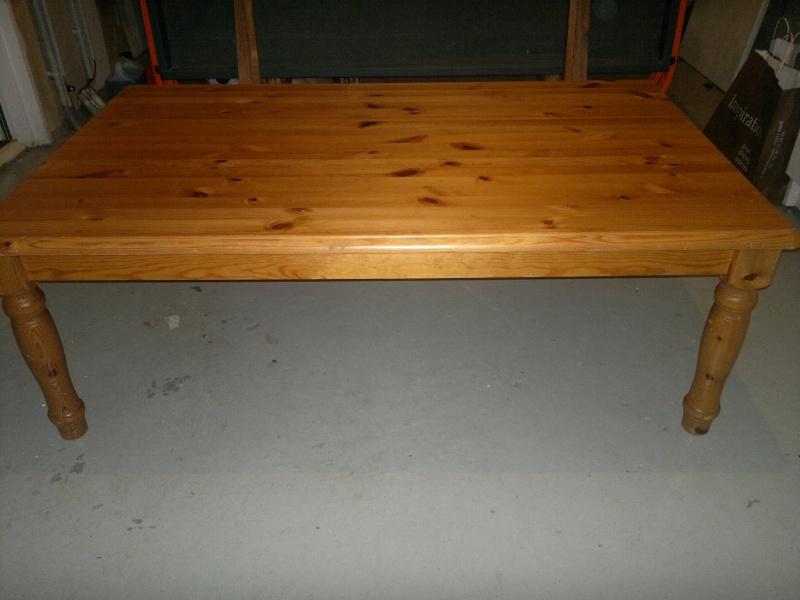 Table basse pin