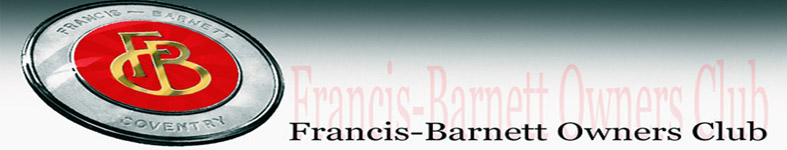 Francis-Barnett Owners Club