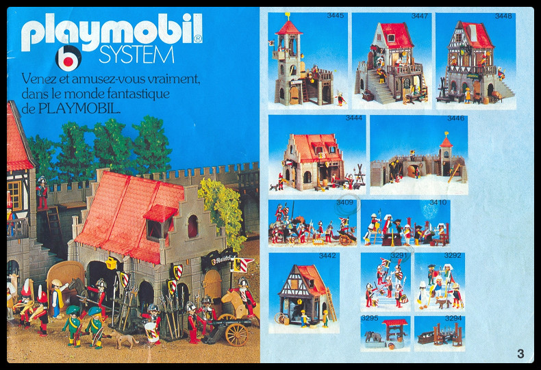 Playmobil vintage moyen âge