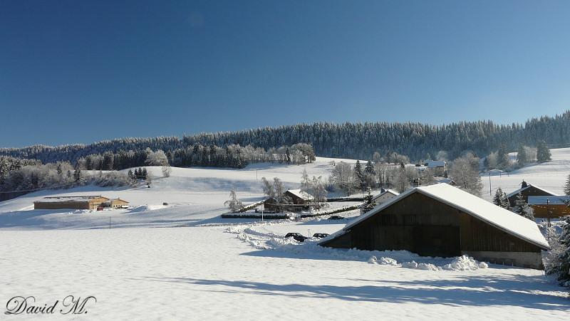 La neige dans le haut-doubs...