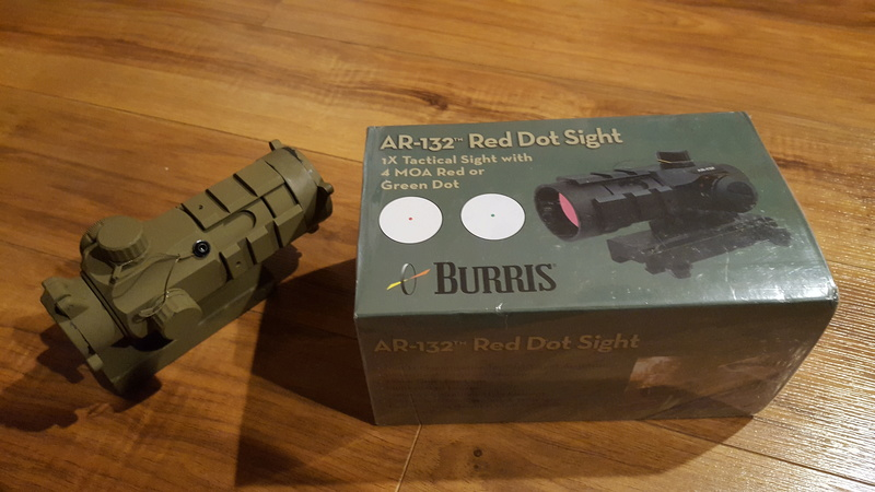 Wts Burris Ar 132 Red Dot Priced To Sell Must Go