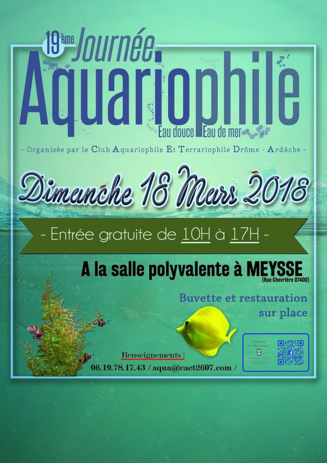 19 me salon aquariophile meysse 07 le 18 mars 2018 for Salon aquariophile 2017
