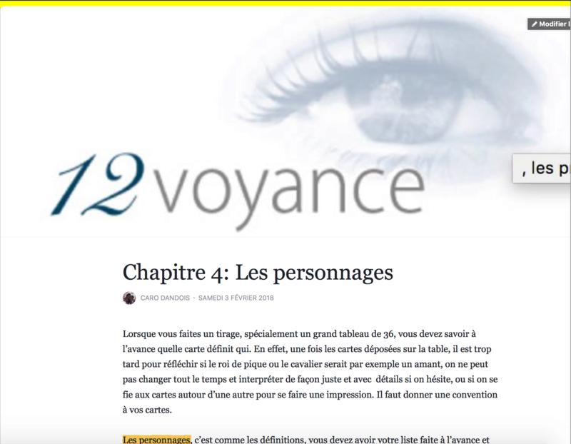 Facebook page 12 voyance