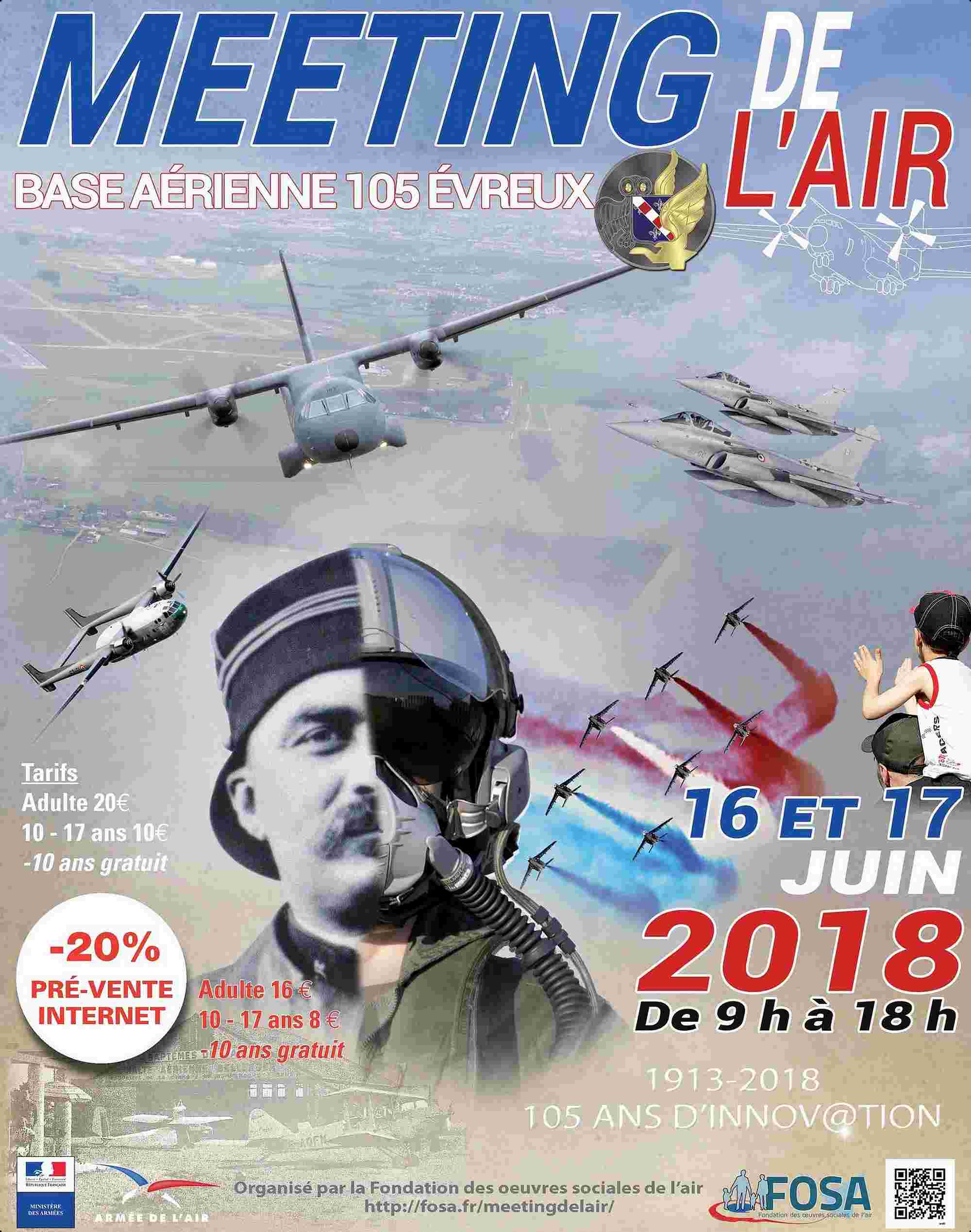 Meeting de l'Air d'Evreux 2018,Base Aerienne 105 Evreux Fauville 2018, Spotter FOSA , meeting aerien 2018