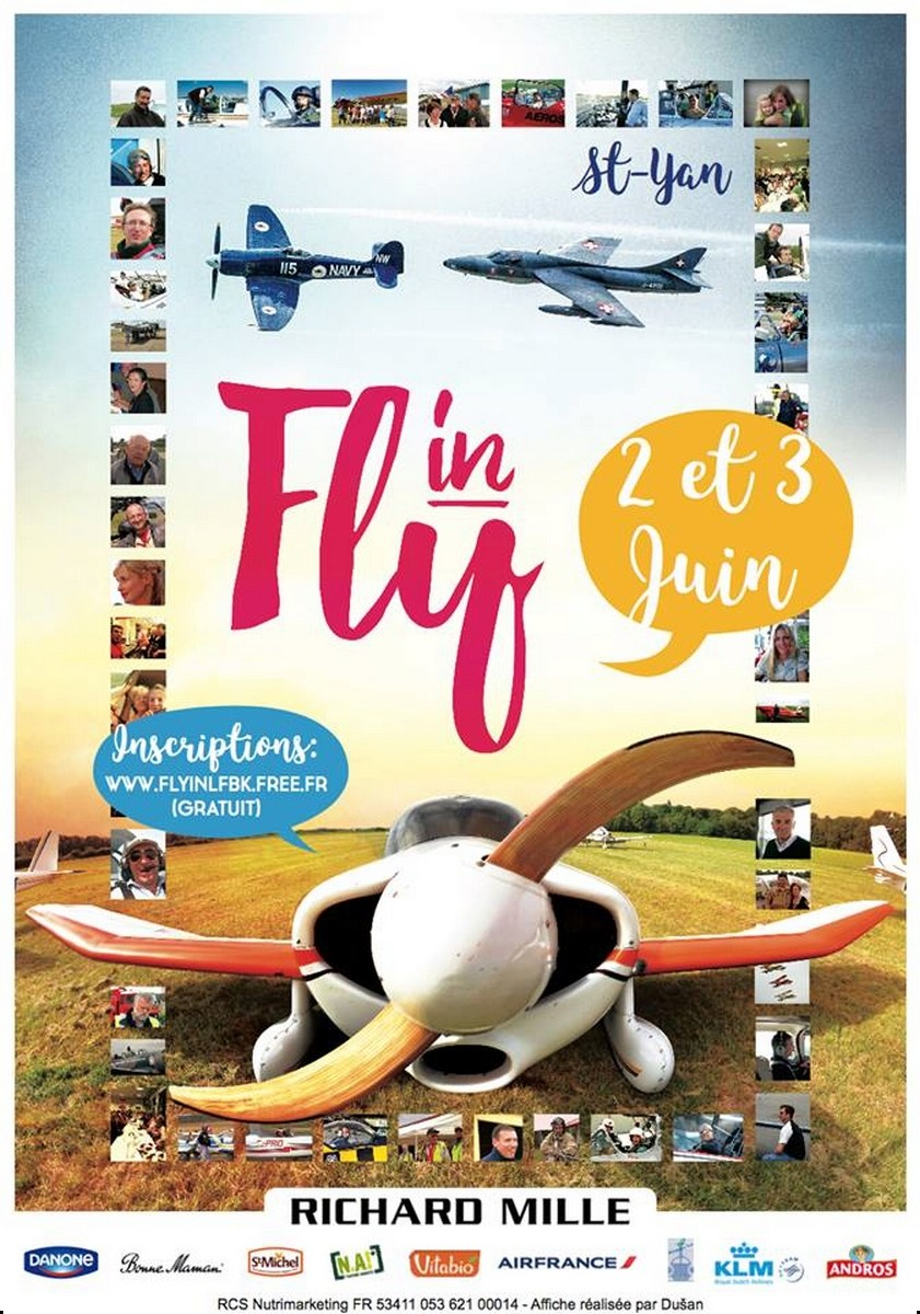 Fly In LFBK Saint YAN 2018, Aerodrome de Saint Yan , meeting aérien 2018