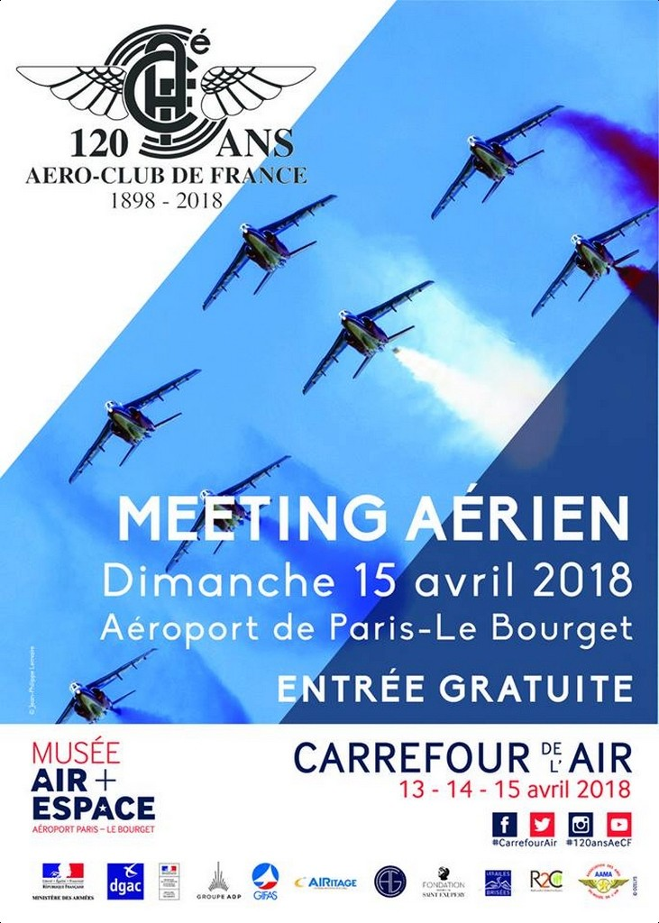 120e anniversaire de l'Aero-Club de France 2018, patrouille de france , meeting aerien 2018