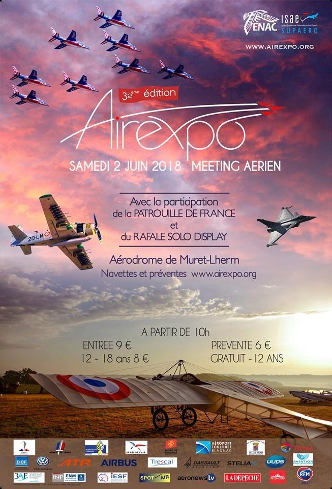 Airexpo 2018, rafale solo display 2018 , patrouille de france 2018, meeting aerien 2018