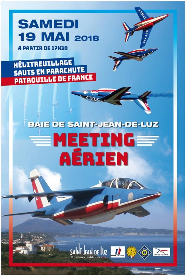 Meeting Aerien Spectacle Saint-Jean-de-Luz 2018 , patrouille de France 2018 , meeting Aerien 2018