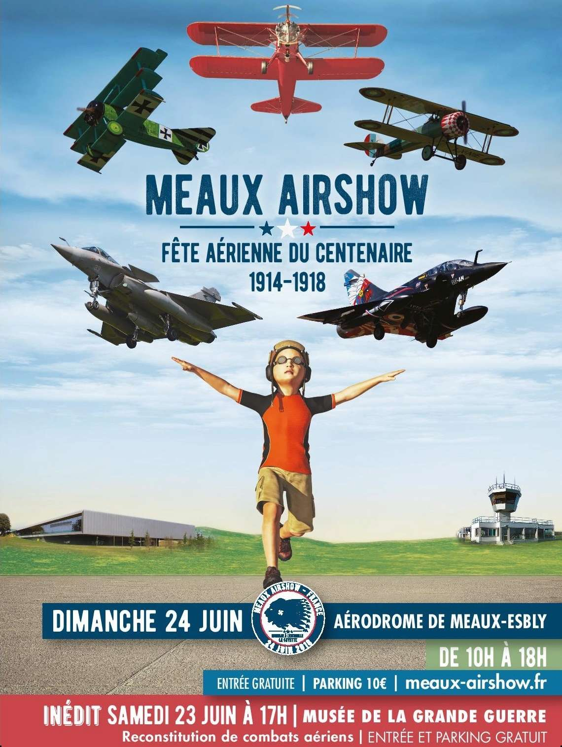 Meaux Airshow 2018,Aérodrome de Meaux-Esbly , meeting aerien 2018