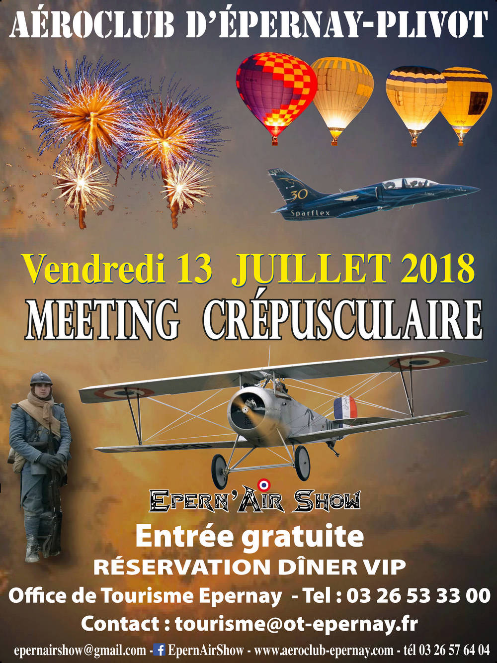 Epern'Air Show 2018, Aérodrome de plivot , Champagne-Ardenne ,meeting aerien 2018