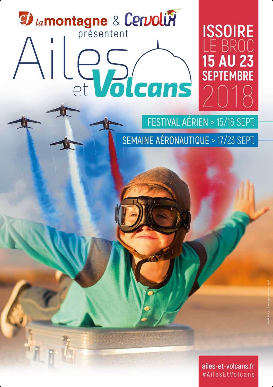 Ailes & Volcans 2018 , Cervolix 2018 , Puy-de-Dôme , CF La Montagne , patrouille de france , Clermont-Ferrand , ailes-et-volcans , meeting Aerien 2018