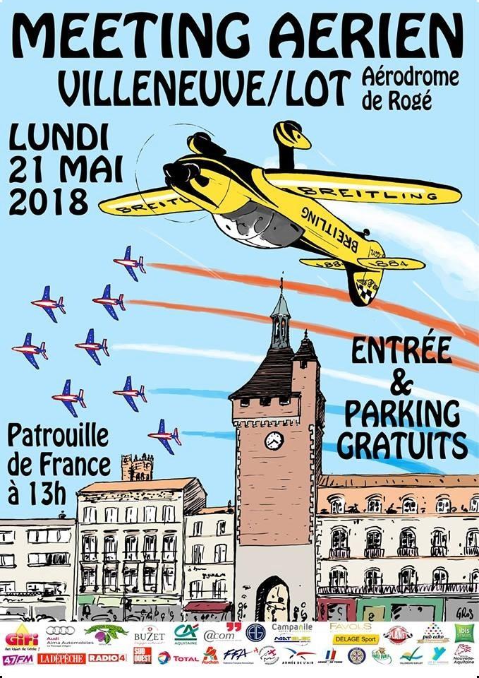 Villeneuv'Air Show2018 , Aérodrome de Rogé, Villeneuve sur Lot , Voltige , meeting Aerien 2018