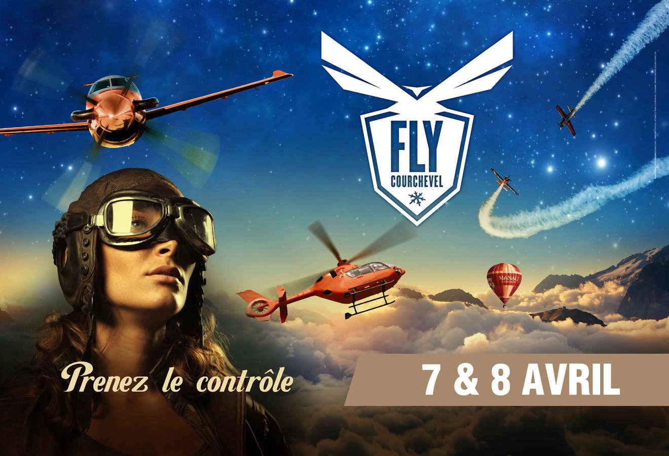 Fly Courchevel 2018 , exposition d'hélicoptères et d'avions , show de voltige aérienne 2018 , baptêmes de l'air Courchevel