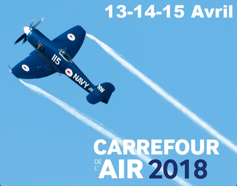 Carrefour de l'Air, Musée de l'Air Paris , meeting aerien 2018