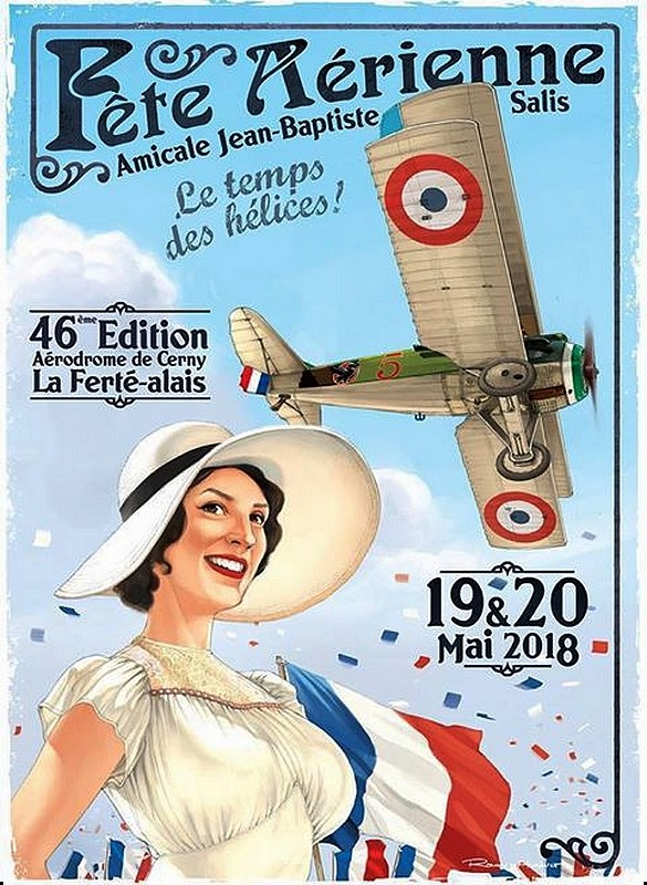 Ferté Alais Aérodrome Plateau Ardenay 2018 - Cerny , meeting Aerien 2018