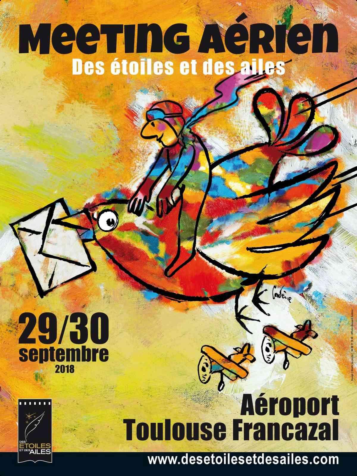 Des Étoiles et des Ailes 2018, meeting aerien 2018, Aéroport Toulouse Francazal 2018