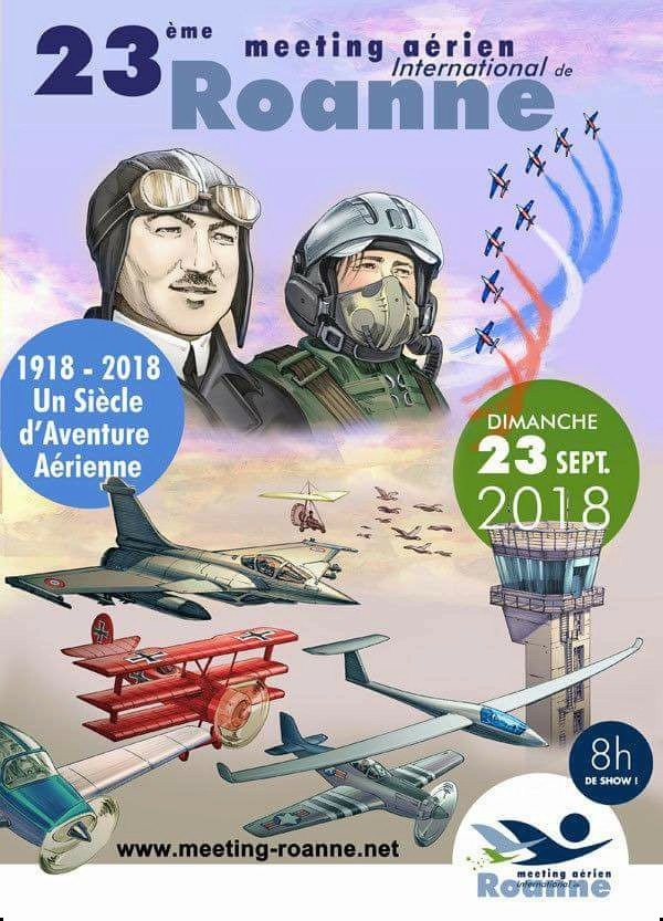 meeting aerien international de roannee 2018, meeting aerien 2018, roanne airshow , paf