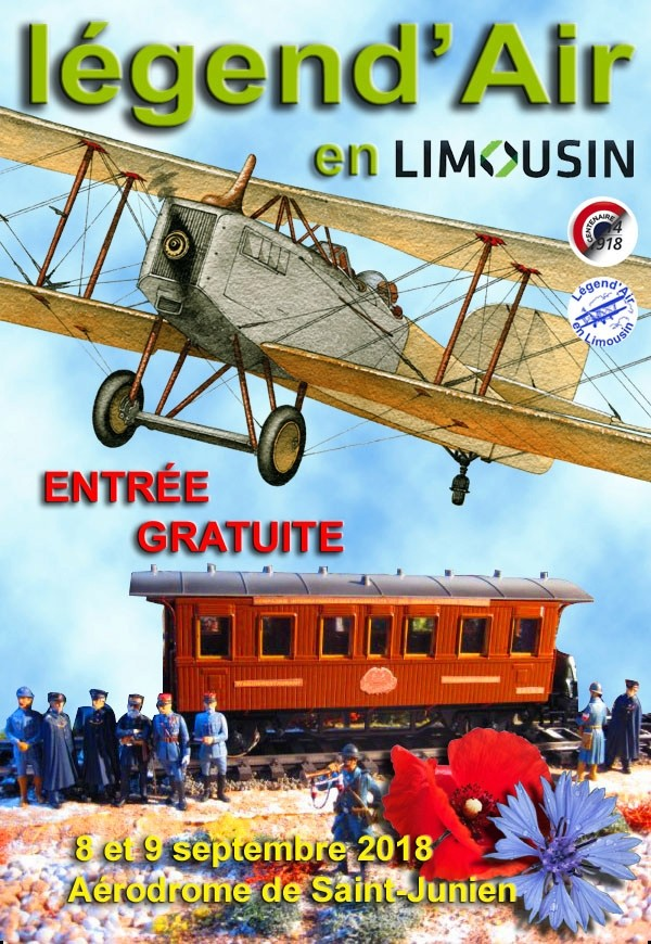 legend'Air en limousin 2018, meeting aerien 2018