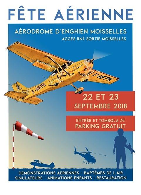 Fête Aérienne Enghien 2018, meeting aerien 2018, aérodrome d'Enghien-Moisselles 2018