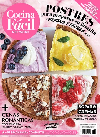 cocina24 - Cocina Facil Mexico - Febrero 2018 - PDF - HQ