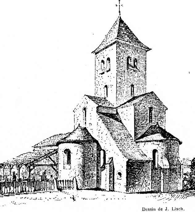 Rpartage rp eglise de la paroisse de rodez - Eglise dessin ...